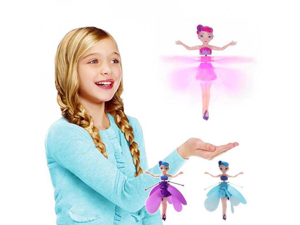 Létající víla - panenka Hatchimals Pixies
